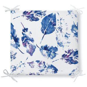 Perna pentru scaun albastru Leaves